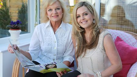 Trudi King and daughter, Claudia at home in Cheadle Hulme
