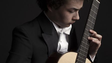 Sean Shibe, who will perform at Glynde Place