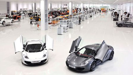 Based in Woking, McLaren exports to nearly 30 countries in the world