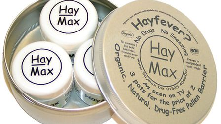Haymax treatment for hayfever