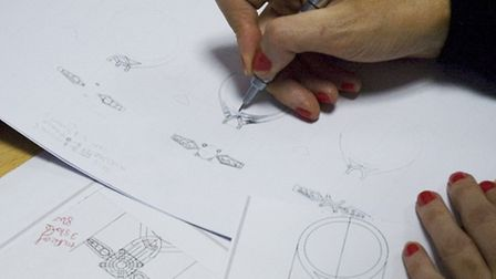 Drakes employees have the opportunity to design a diamond ring