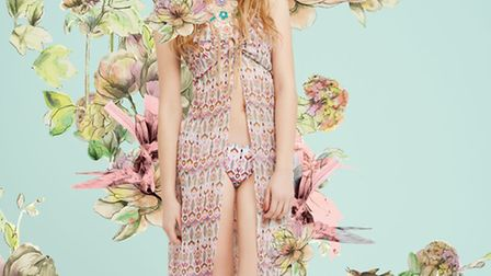 Say it with flowers - Bring the house down with this fabulous festival cover-up, £25 from Miss Selfr