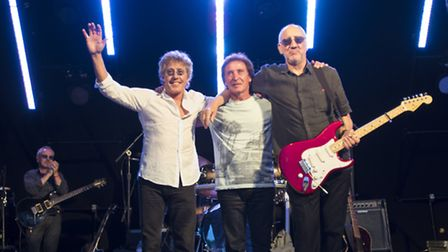 Roger Daltrey, Kenny Jones and Pete Townshend (Photo: Russ Kirby)