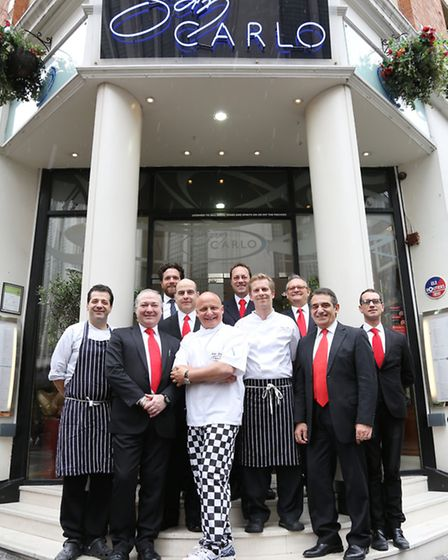 The Management of San Carlo, Manchester