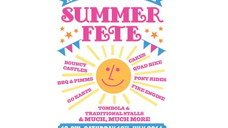 Rodmarton Schools Fete / Poster by: Marcus Walters (www.marcuswalters.com)