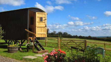 How about a stay in a 1930s shepherd's hut near Thursley in the heart of the Surrey Hills