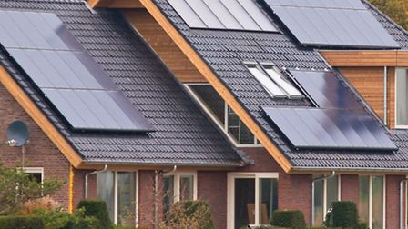 Solar panels on houses are an increasingly common sight in the Cotswolds / photo: CreativeNature.nl