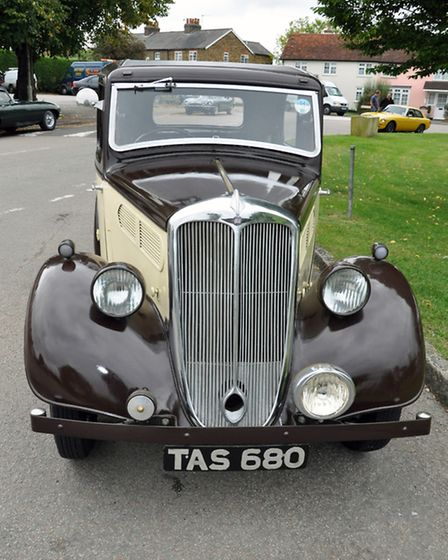 There is a long-standing classic car meet in the village