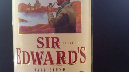 My younger brother returned from his French holiday with half a dozen bottles of Sir Edward's whisky