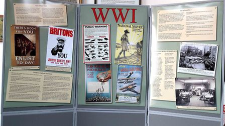 The RAU WW1 display / Photo: Jonathan Leach