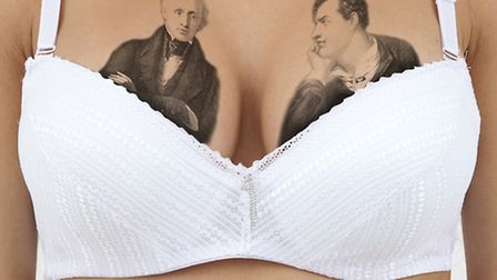 I like the thought of Wordsworth and Byron squaring up over the cups of my bra