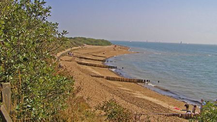Soak up the stunning views from Lepe Country Park