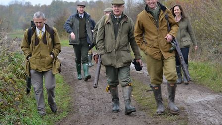 A shooting party at Dormy House / Photo: Picasa