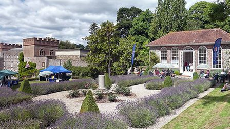 The Terrace and Orangery at Ugbrooke House. Photo by Colin Lizius