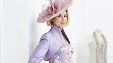 Look the part in this pretty hat, £236, from Nigel Rayment Boutique