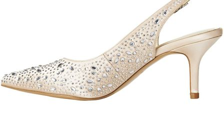 Monroe shoes, £99 Phase Eight