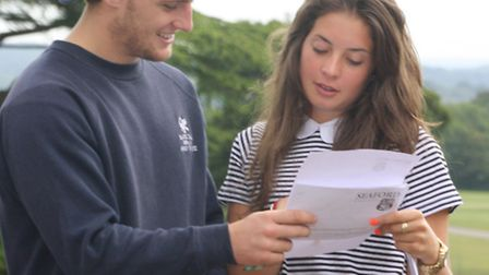 Seaford College A Level Results Day