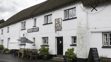 The Duke Of York at Iddesleigh, Michael's local pub and now a regular stopping off point for those o