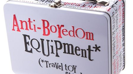 Does What It Says On The Tin - Pop pencils, books, snacks and toys in this excellent suitcase tin fr
