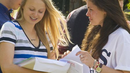 A Level results 2014