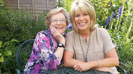 Ruth Langsford and her mother