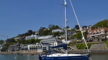 My dog, Laika, found her sea legs when she stayed at the dog-friendly and revamped Salcombe Harbour