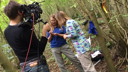 The BBC One Show's Miranda Krestovnikoff joined the team to see the innovative work in action
