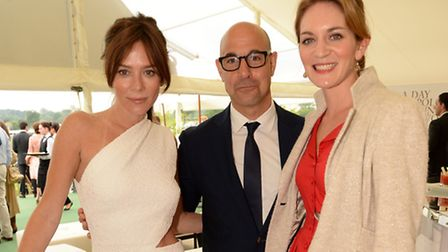 Anna Friel, Stanley Tucci and Felicity Blunt