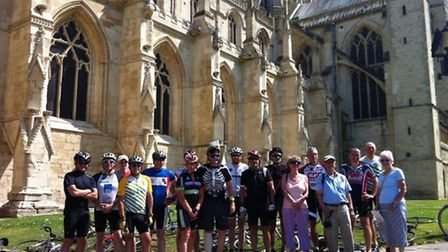 The Tour de Gloucestershire at Gloucester Cathedral