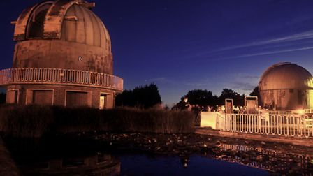 Taken during the 2012 Herstmonceux Astronomy Festival. Festival goers can be seen queing for Dome E.