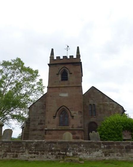The Grade One listed St Peter's church
