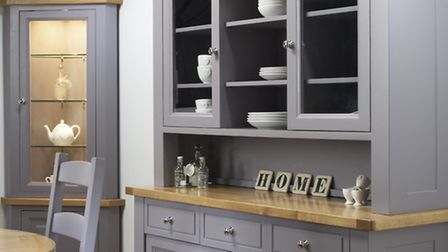 Create a statement with brighter colours of painted furniture