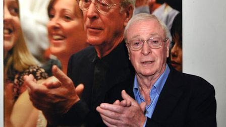 Sir Michael Caine at Leatherhead Drama Festival, by Andy Newbold