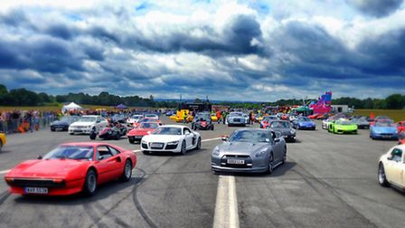 The Supercar Event, by Andy Newbold