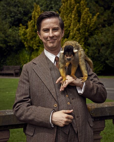 Lee Ingleby as George Mottershead in BBC One drama Our Zoo.