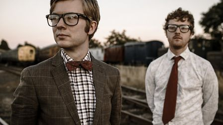 Public Service Broadcasting photographd by Dan Kendall