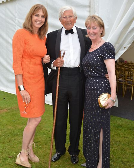 The Duchess of Norfolk with Jack & Kathy Gore