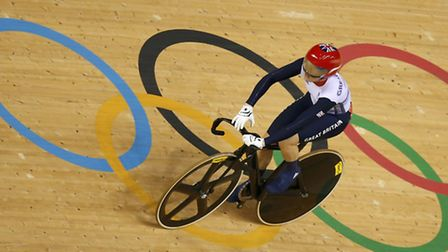Victoria Pendleton at the Velodrome during the London 2012 Olympic Games August REUTERS/Paul Hanna
