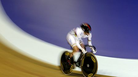 Victoria Pendleton of Great Britain in action Mandatory Credit: Action Images / Paul Thomas
