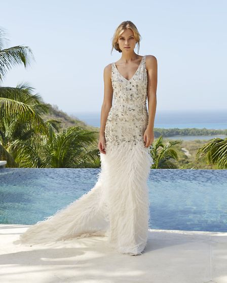 Unleash your inner goddess on your wedding day in this stunning Aphrodite gown by Amanda Wakeley £7