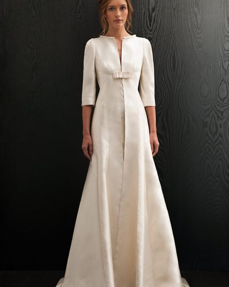 Winter weddings may require that you cover up beautifully and if so invest in something simply divin