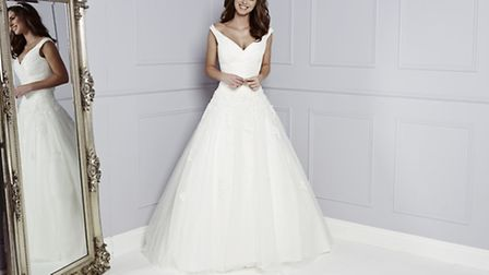 """Corina by Amanda Wyatt is just so regal it is sure to bring out your inner """"princess"""""""