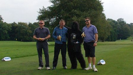 Gorilla on the course!