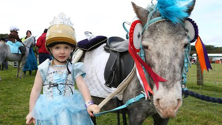 Hannah Tunstall and Silverdale Dora the Explora won first prize in the fancy dress competition