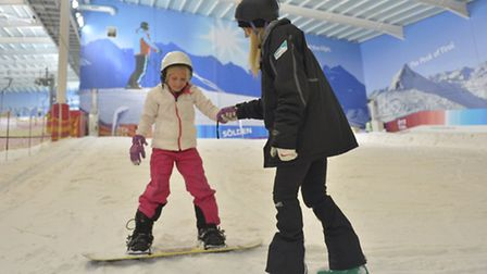 All ages are catered for at The Snow Centre