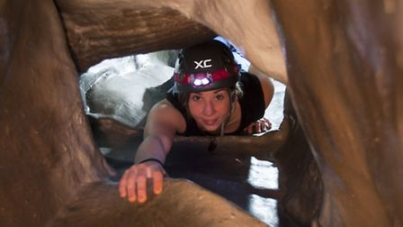 The caving system is the largest in the UK
