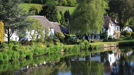 Bickleigh thatch alongside the River Exe