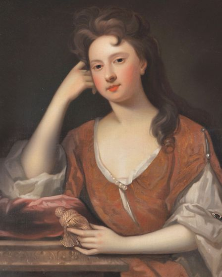 Attributed to Charles dAgar (1669-1723) French, Portrait of the Duchess of Richmond, After Godfrey K