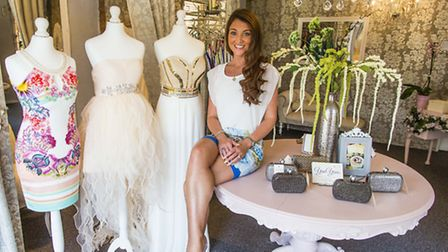 Liana Dickinson founded YanYans Boutique in Guildford earlier this year (Photo Adele Mitchell)