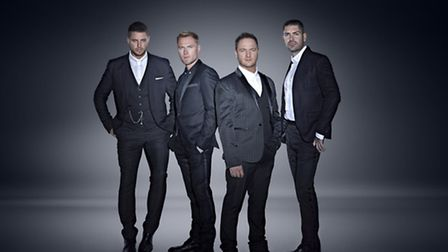 Boyzone will be playing a combination of their classic hits and new material
